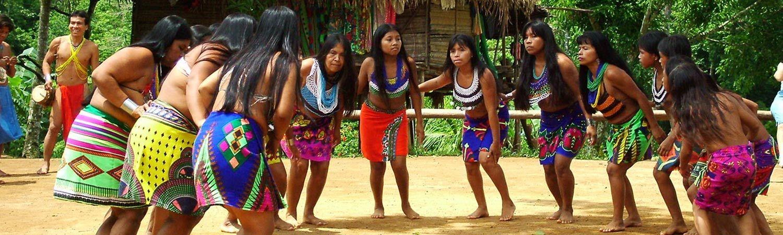 Panama wakacje Embera