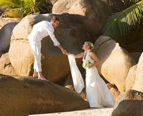 Seszele podróże poślubne hotel lemuria